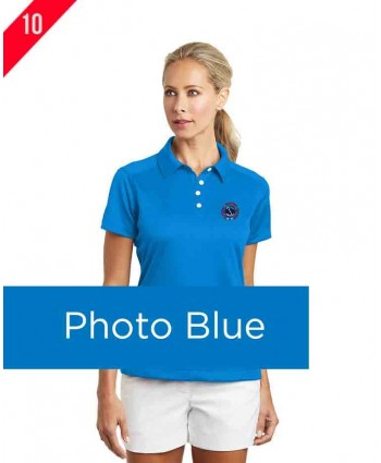 NWS A1-0070 Nike Golf - Ladies Dri-FIT Pebble Texture Polo.