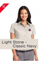A2-0083 Port Authority® Ladies Short Sleeve Easy Care Shirt