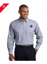 Men's Long Sleeve Poplin Sport Shirt